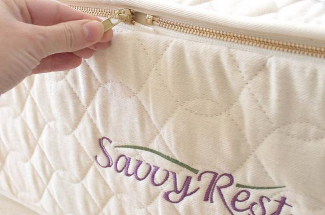 Toxic flame retardant free casing from Savvy Rest