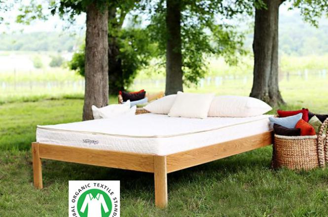 Savvy Rest's Tranquility organic mattress is great for kids