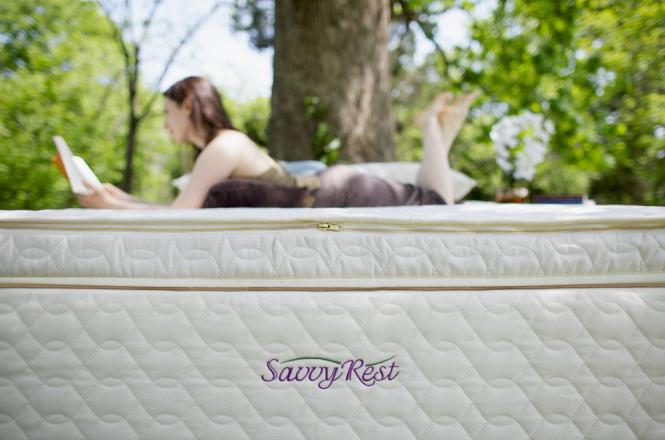 Unity Pillowtop Organic Mattress Savvy Rest
