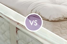 mattress pads vs toppers