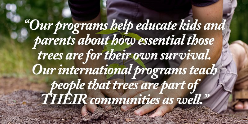 the importance of trees in our communities