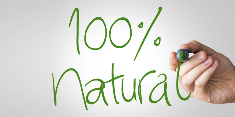 what does 100% natural latex mean?