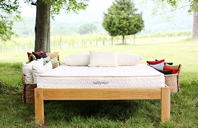 Savvy Rest organic mattress for kids
