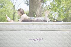 Organic pillowtop mattress from Savvy Rest