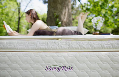 Organic pillowtop mattress with natural latex
