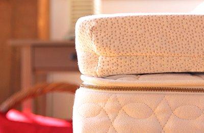 soft Talalay latex mattress topper