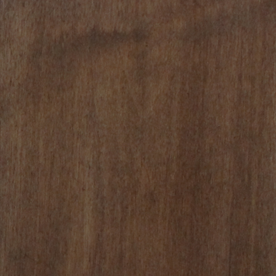 zero-VOC walnut finish