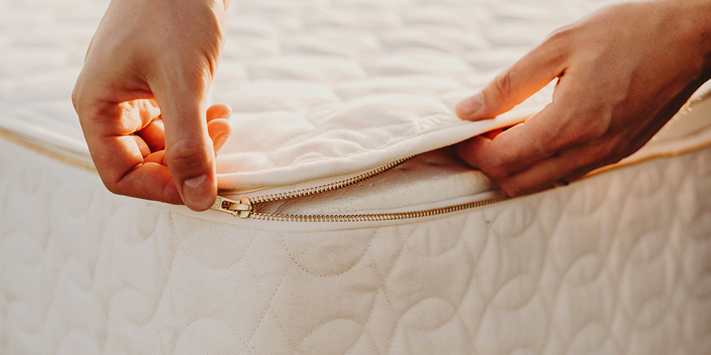 what is inside an organic mattress?