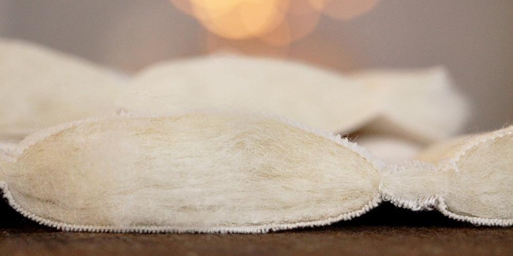 Organic mattress fabric.