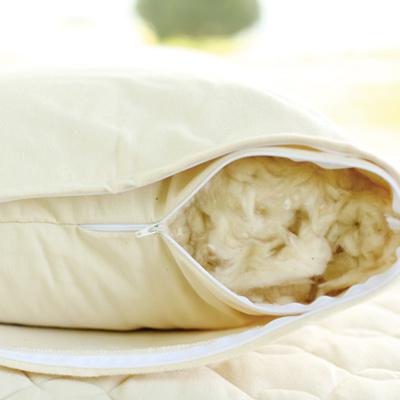 body pillow filled with organic kapok