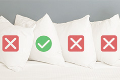 choosing a pillow